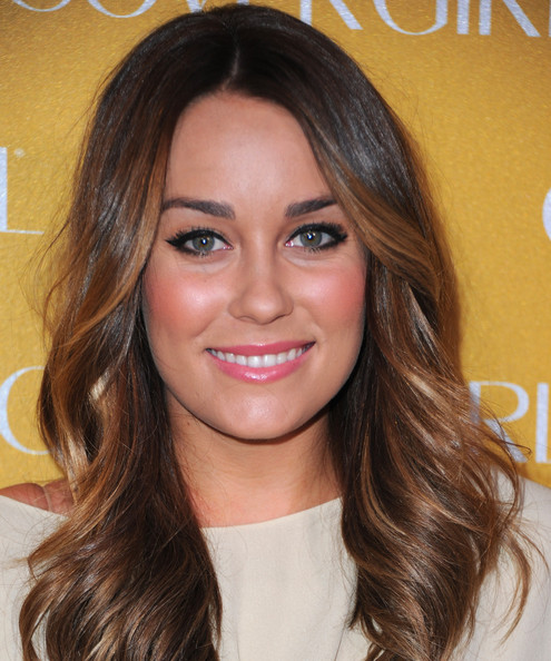 Lauren Conrad TV personality Lauren Conrad arrives to Covergirl Cosmetic's