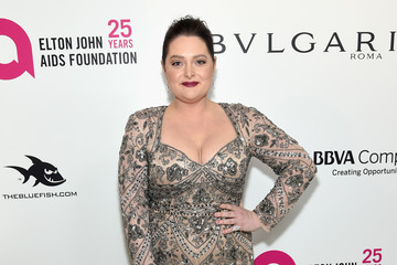 Lauren Ash 26th Annual Elton John AIDS Foundation Academy Awards Viewing Party sponsored by Bulgari, celebrating EJAF and the 90th Academy Awards - Red Carpet