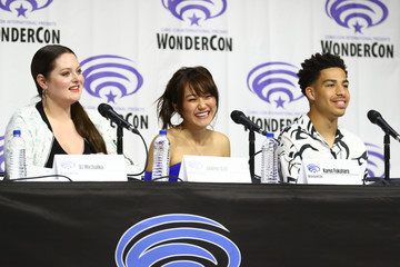 Lauren Ash Marcus Scribner DreamWorks 'She-Ra And The Princesses Of Power' At WonderCon