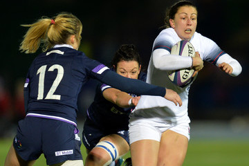 Lauren Cattell Scotland Women vs. England Women - Natwest Women's Six Nations