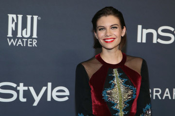 Lauren Cohan FIJI Water At The 2017 InStyle Awards
