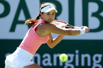 Lauren Davis BNP Paribas Open - Day 8