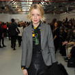 Lauren Laverne Front Row & Celebrities: Day 5 - LFW AW16