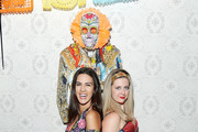 """Hallie Friedman and Natalie Zfat attend Lauren Scala and Natalie Zfat's Fourth Annual """"Scaring is Caring"""" Halloween Party at The Seville on October 27, 2018 in New York City."""