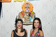 """Jessica Naziri and Natalie Zfat attend Lauren Scala and Natalie Zfat's Fourth Annual """"Scaring is Caring"""" Halloween Party at The Seville on October 27, 2018 in New York City."""