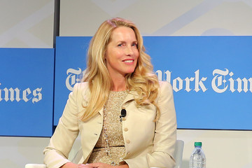 Laurene Powell Jobs The New York Times 2014 Schools For Tomorrow Conference Reception