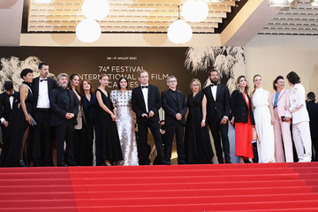 """Laurent Lafitte """"Annette"""" & Opening Ceremony Red Carpet - The 74th Annual Cannes Film Festival"""