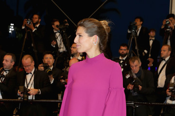Laury Thilleman '3 Faces (Se Rokh)' Red Carpet Arrivals - The 71st Annual Cannes Film Festival