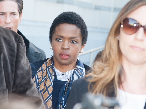 Lauryn Hill Arrives at a New Jersey Courthouse