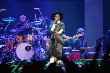 Lauryn Hill CBGB Festival Presents Amnesty International Concert At Barclay Center - Show
