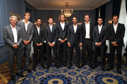 Roger Federer and Bjorn Borg Photos Photo