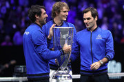 Roger Federer Kevin Anderson Photos Photo