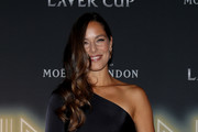 Ana Ivanovic of Serbia arrives on the Black Carpet during the Laver Cup Gala at the Navy Pier Ballroom on September 20, 2018 in Chicago, Illinois. The Laver Cup consists of six players from Team World competing against their counterparts from Team Europe. John McEnroe will captain Team World and Team Europe will be captained by Bjorn Borg. The event runs from 21-23 Sept.