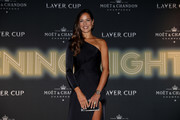 Former tennis player Ana Ivanovic of Serbia arrives on the Black Carpet during the Laver Cup Gala at the Navy Pier Ballroom on September 20, 2018 in Chicago, Illinois. The Laver Cup consists of six players from Team World competing against their counterparts from Team Europe. John McEnroe will captain Team World and Team Europe will be captained by Bjorn Borg. The event runs from 21-23 Sept.