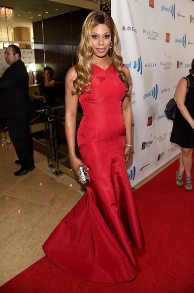 Laverne Cox Pictures 25th Annual Glaad Media Awards Red Carpet Zimbio