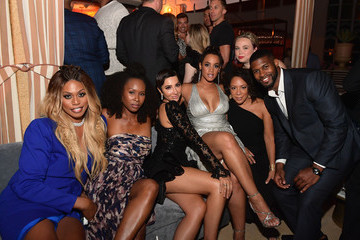 Laverne Cox Dascha Polanco Entertainment Weekly And L'Oreal Paris Hosts The 2018 Pre-Emmy Party - Inside