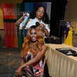 Laverne Cox Actress, Activist And Matrix Brand Ambassador Laverne Cox Joins Matrix Global Business Ambassador Tabitha Coffey At  Matrix Destination 2020 In Orlando - Day 1
