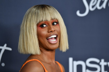Laverne Cox 21st Annual Warner Bros. And InStyle Golden Globe After Party - Arrivals
