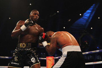 Lawrence Okolie Anthony Joshua v Carlos Takam -  World Heavyweight Title Fight