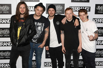 Lawrence Taylor Kerrang! Awards - Arrivals
