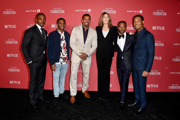 Laz Alonso Algee Smith SAG-AFTRA Foundation Patron of the Artists Awards 2017 - Arrivals