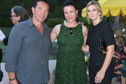 (L-R) Giovanni Giuliano, Garance Doré and Jennifer Dowd Giuliano attend Garance Doré, founder of Atelier Doré, celebrates Au Soleil:A Summer Soirée by Le Méridien – a global programme that brings the playful glamour of 1960s European Summers to Le Méridien hotels around the world, on July 12, 2018 in Beverly Hills, California.