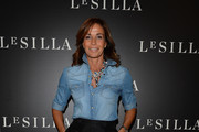 Cristina Parodi attends the Le Silla - Fall/Winter 2014-15 Collection Presentation as part of Milan Fashion Week Womenswear Autumn/Winter 2014 on February 22, 2014 in Milan, Italy.