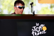 Romain Bardet of France and team AG2R during stage eight of the 2017 Le Tour de France, a 187.5km road stage from Dole to Station Des Rousses on July 8, 2017 in Dole, France.