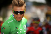 Marcel Kittel of Germany riding for Quick-Step Floors in the points jersey prepares to start stage 13 of the 2017 Le Tour de France, a 101km stage from Saint-Girons to Foix. on July 14, 2017 in Saint-Girons, France.