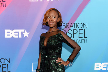 LeAndria Johnson BET Celebration of Gospel 2014 - Red Carpet