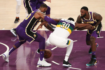 LeBron James New Orleans Pelicans v Los Angeles Lakers