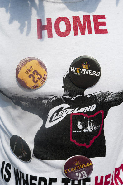 Akron Celebrates the Return of LeBron James