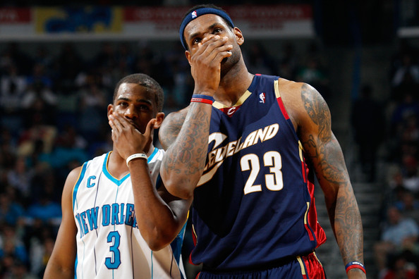 Image result for lebron james chris paul cavaliers
