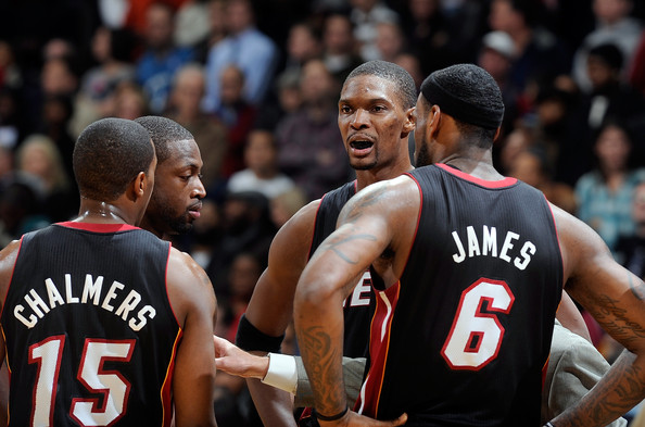 LeBron James and Mario Chalmers Photos Photos - Miami Heat v ... 98e564a43
