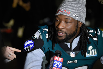LeGarrette Blount Super Bowl LII - Philadelphia Eagles Media Availability