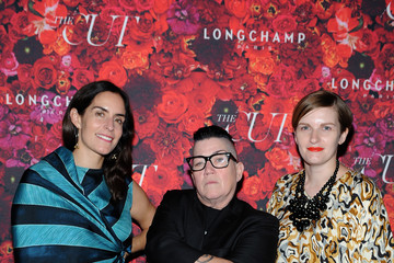 Lea DeLaria Chelsea Fairless NYMag and The Cut Fashion Week Party