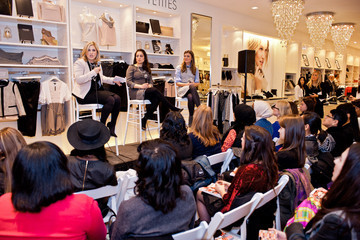 Lea Goldman Marie Claire & Ann Taylor Own the Room Event