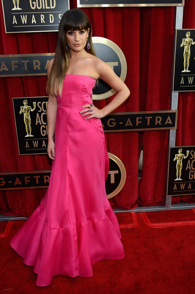 Lea Michele - 19th Annual Screen Actors Guild Awards - Red Carpet