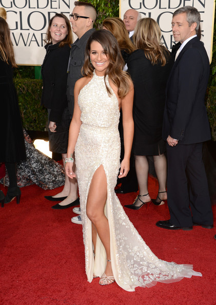 Lea Michele - 70th Annual Golden Globe Awards - Arrivals