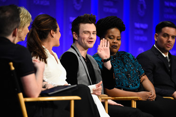 """Lea Michele Chris Colfer The Paley Center For Media's 32nd Annual PALEYFEST LA - """"Glee"""" - Inside"""