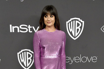 Lea Michele Warner Bros. Pictures and InStyle Host 18th Annual Post-Golden Globes Party - Arrivals