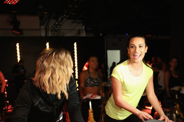 Lea Michele SoulCycle x Target Launch Event