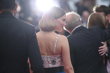 Lea Seydoux 'Oh Mercy! (Roubaix, Une Lumiere)'Red Carpet - The 72nd Annual Cannes Film Festival