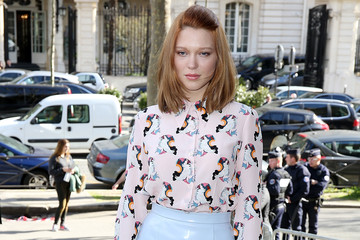 Lea Seydoux Arrivals at the Miu Miu Show