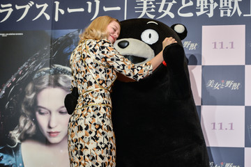 Lea Seydoux 'Beauty and The Beast' Press Conference In Tokyo