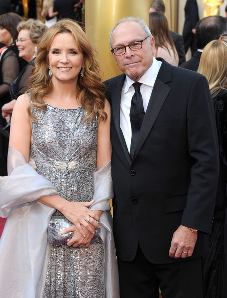 Lea Thompson with friendly, fun, Husband Howard Deutch