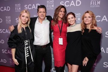"""Lea Thompson Zoey Deutch 20th Anniversary SCAD Savannah Film Festival - Opening Night Red Carpet & Screening Of """"Molly's Game"""""""
