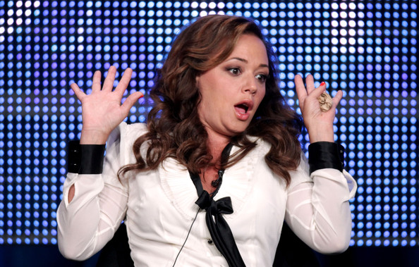 The Talk Show Host Leah Remini at the 2010 Summer TCA Tour Day 1 at the
