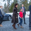 Leah Isadora Behn Norwegian Royals Attend Christmas Service
