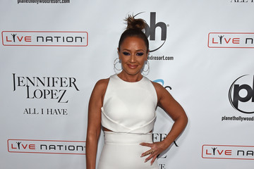 Leah Remini Jennifer Lopez Launches 'Jennifer Lopez: All I Have' at Planet Hollywood in Las Vegas - Arrivals
